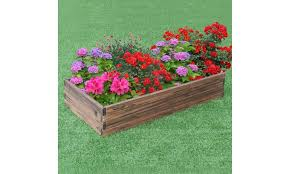 off on wooden raised garden bed kit