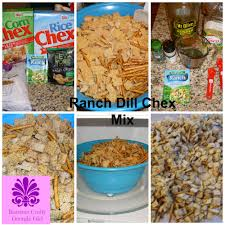 ranch and dill chex mix