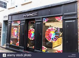 cosmetics window display stock