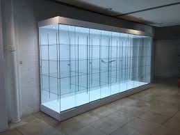 hand crafted bespoke display cabinets