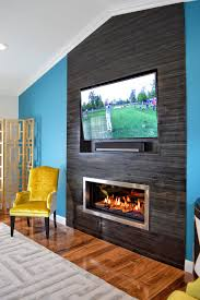 modern marble fireplace contemporary