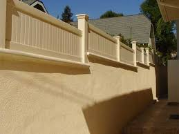 Photo 02 Wall Topper Vinyl Fence Fence Toppers Backyard Patio