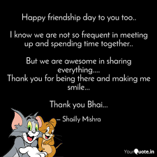 cute happy friendship day quotes لم ...
