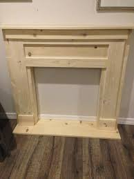 diy faux fireplace mantel faux