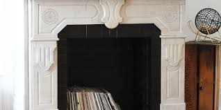 brick fireplace with natural cleaners