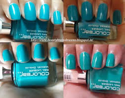 colorbar nail lacquer exclusive shade