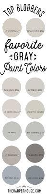 grey paint colors top bloggers