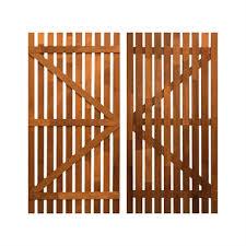 Specrite 1800 X 900mm Merbau Vertical Slat Gate Bunnings Warehouse