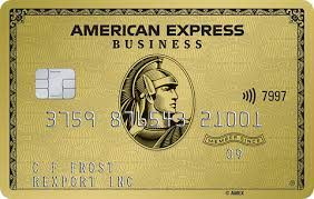 the american express gold business card