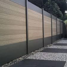 Wood Plastic Composite Fence Panels Google Search Fence Design Modern Garden Backyard Fences