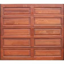 Garage Door Sectional Meranti Wood 10 Panel Single W2500xh2170mm Leroy Merlin South Africa
