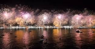 Año Nuevo Rio de Janeiro, Brasil. Celebración de Año Nuevo en Rio ...