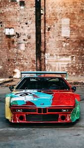 El Bmw M1 Art Car De Andy Warhol Cumple 40 Anos En 2020 Con