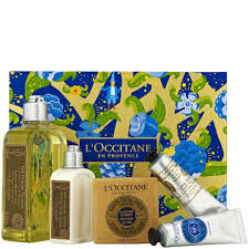 l occitane sparkling verbena collection