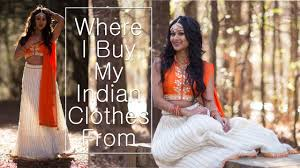 where i get my indian outfits from