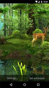 android wallpaper deer and nature 3d