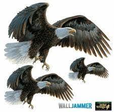 Advanced Graphics Eagles Wall Decal Wayfair