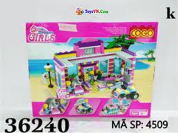 Đồ chơi xếp hình lắp ráp nhà COGO cho trẻ em - Mã SP: 4509 - Đồ Chơi Trẻ Em  - ToysVN.Com