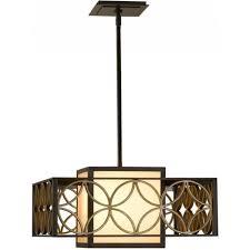 remy modern art deco ceiling light in