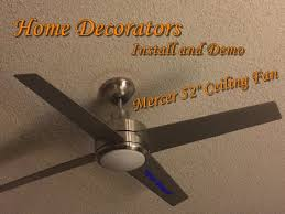 how to install ceiling fan with remote