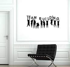 Amazon Com Team Building Vinyl Wall Decal Teambuilding Office Room Decor Stickers Mural And Stick Wall Decals Home Kitchen