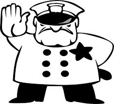 Policeman,stop,traffic,white,black - free image from needpix.com