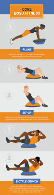 strength and balance with a bosu ball
