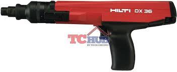 hilti powder actuated nail gun dx36m