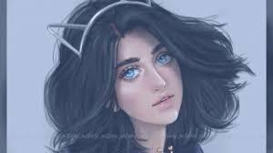 رسم بنات حلوات اروع رسمة بنات عتاب وزعل