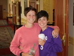 Megan Rapinoe and her twin sister ...