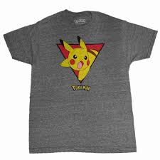 Pokémon - Pokemon Mens Gray Heather Quick Attack Pikachu Short Sleeve  T-Shirt - Walmart.com - Walmart.com