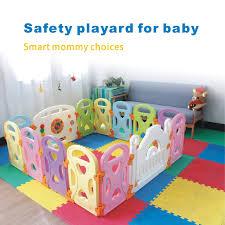 Baby Playpen Kids Activity Centre Safety Play Yard Home Indoor Outdoor With 14 Panels New Pen 14panels Castle Baby Play Yard Kids Activity Center Baby Playpen