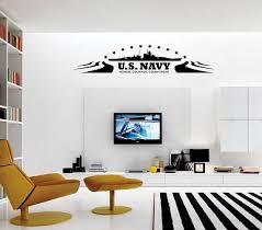Us Navy Wall Decal Navy Girlfriend Navy Decor Armed Forces Wall Decal Us Navy Decal Vinyl Wall Art Navy Decor Navy Walls Living Room Tiles