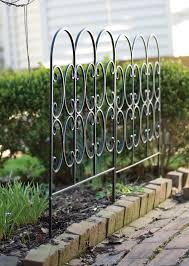 Panacea 87401 Triple Arch Edge Fence Black 31 X 24 For Sale Ebay