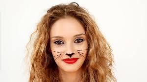 video halloween cat makeup you can do