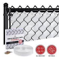 Fenpro Chain Link Fence Privacy Tape Arctic White Buy Products Online With Ubuy Mauritius In Affordable Prices B07cp5wmdh