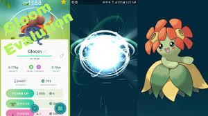 Pokemon Go Gen 2 Gloom Evolution To Bellossom (Sun Stone Required ...