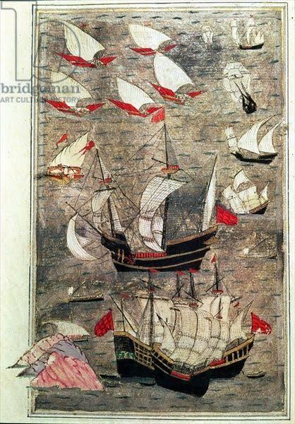 "Resultado de imagem para 16th century ottoman navy"""