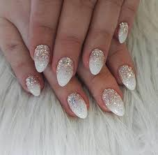 fashionable white nail design ideas
