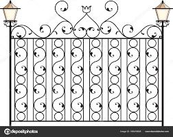 Pictures Iron Window Grills Design Wrought Iron Gate Door Fence Window Grill Railing Design Stock Vector C Ajayshrivastava 166419828