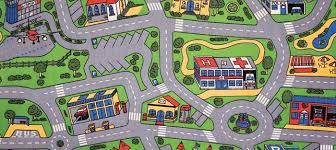 Car Play Mat Play Rug For Cars Street Play Rug Road Play Rug Kids Area Rugs Kids Rugs Play Rug