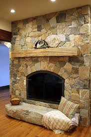 a natural stone for fireplace
