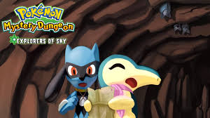 Pokémon Mystery Dungeon: Explorers of Sky Fan Dub - News - Project ...