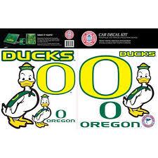 Skinit Oregon Ducks Car Decal Kit Walmart Com Walmart Com