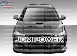 Jdm Power Sticker Racing Jdm Funny Drift Car Truck Wrx Window Decal Ebay