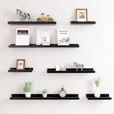 Hot Price 8094aa Floating Shelves Trays Bookshelves And Display Bookcase Modern Wood Shelving Units For Kids Bedroom Wall Mounted Storage Shelf Cicig Co