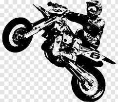 Supermoto Ktm Wall Decal Motorcycle Sticker Automotive Design Motor Transparent Png