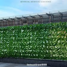 3m Patio Balcony Vine Farm Artificial Hedge Privacy Fence Shopee Philippines