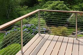 Cable Deck Railing Cost Deck Railing Photo Gallery Stainless Steel Cable Railing System Wi Stainless Steel Cable Railing Cable Railing Systems Deck Railings
