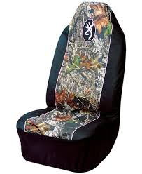pink trimmed camo pullover seat cover